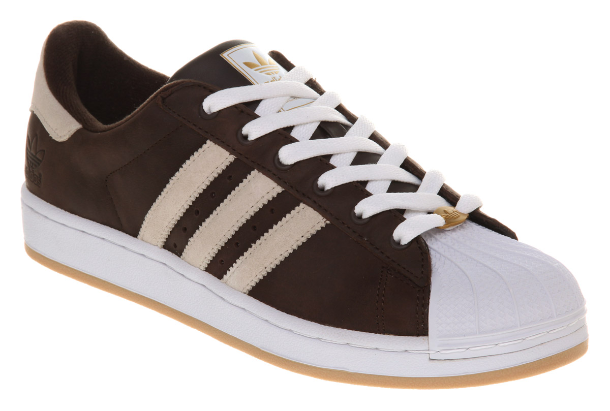 adidas brown trainers