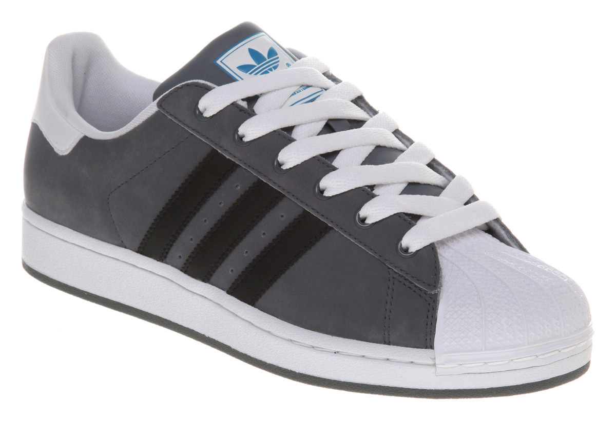 adidas superstar 2 lead black white trainers shoes dd ebay. Black Bedroom Furniture Sets. Home Design Ideas