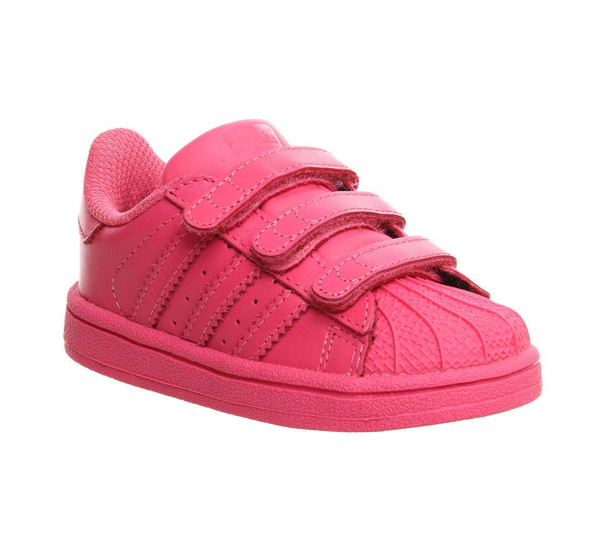 kids adidas superstar infant 2 9 pharrell supercolour. Black Bedroom Furniture Sets. Home Design Ideas