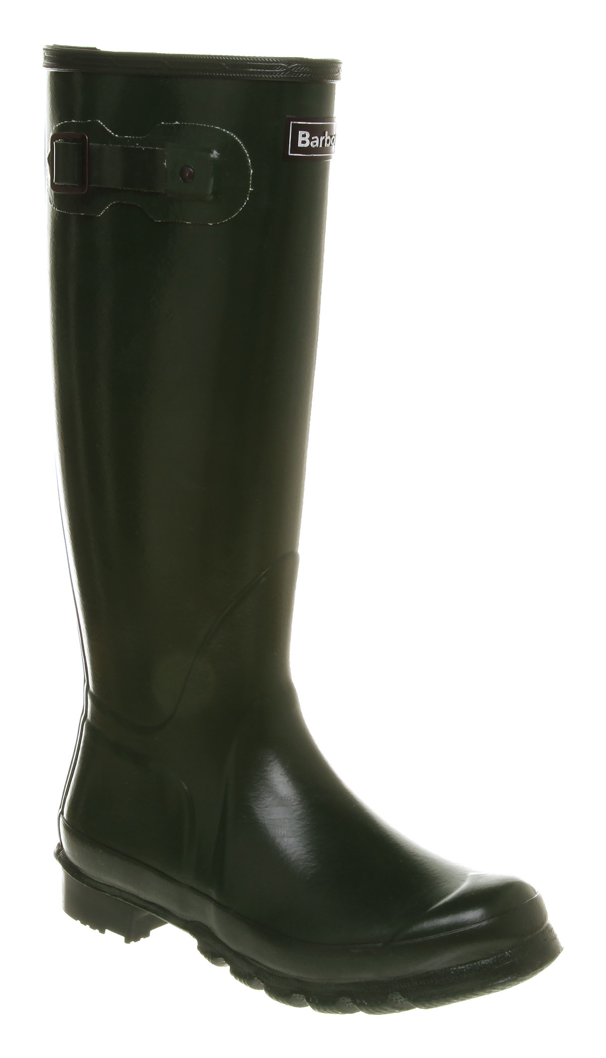 womens barbour town country knee high olive rubber
