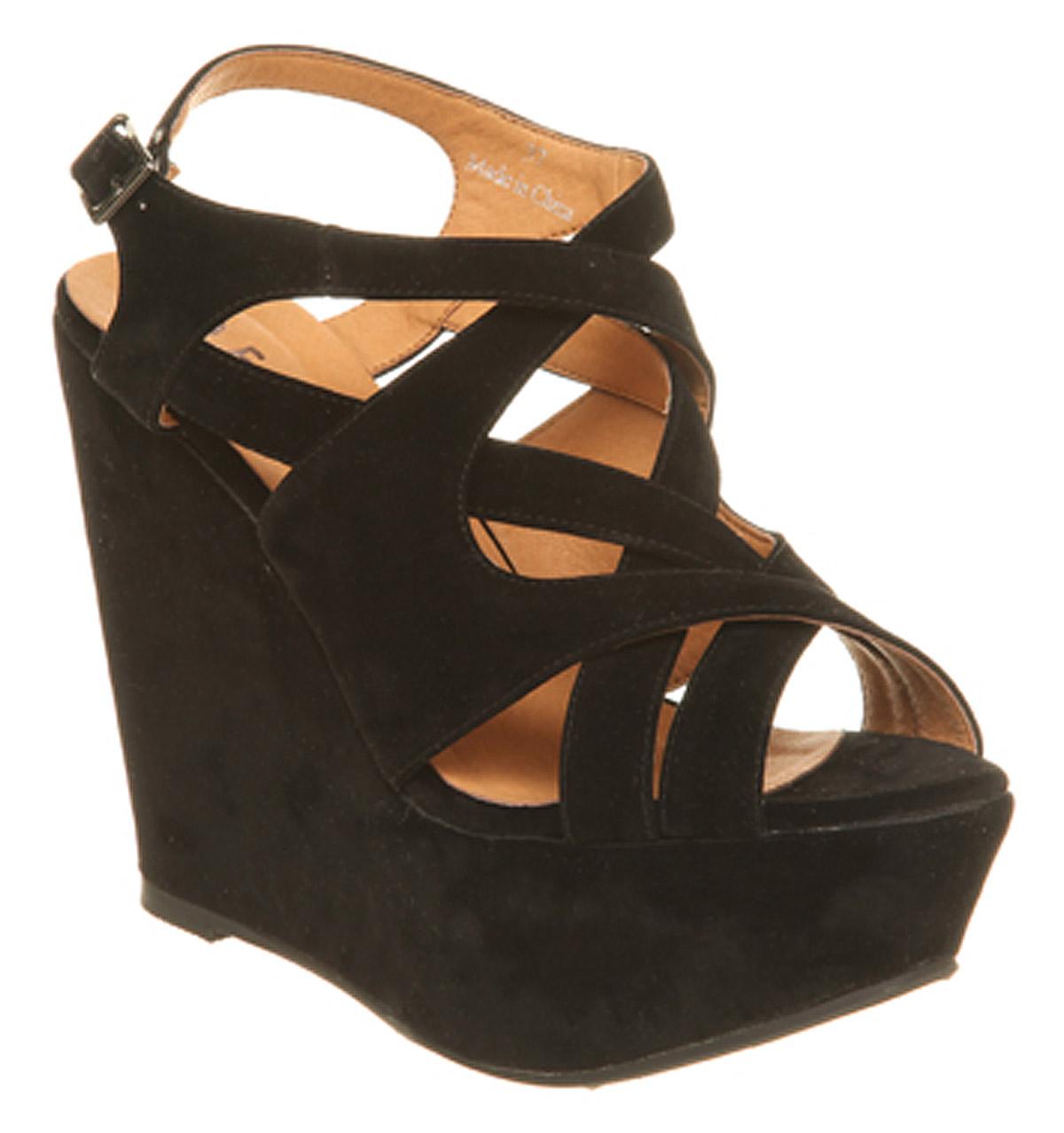 black wedges heels wwwpixsharkcom images galleries