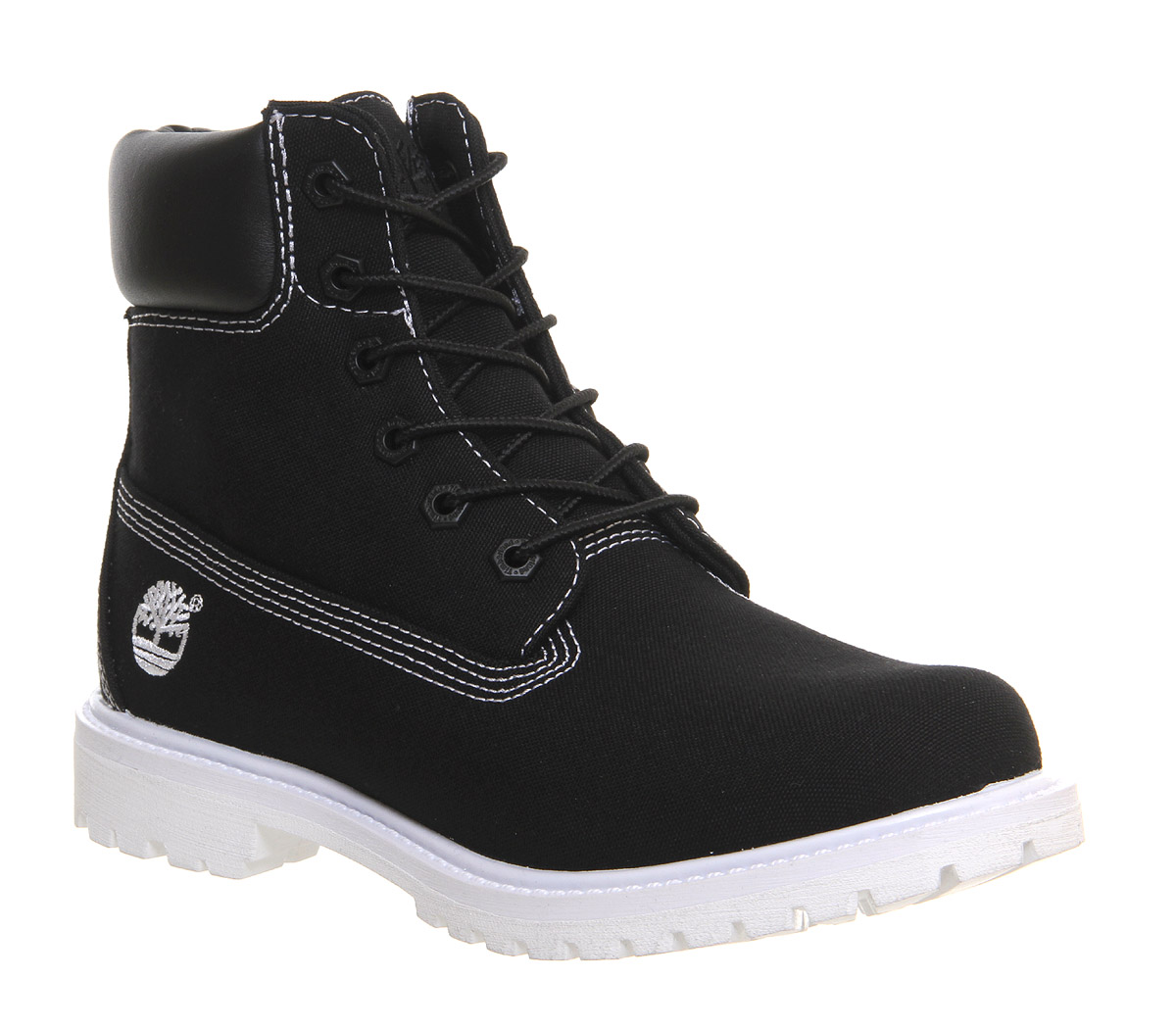 Model  Earthkeeper Canvas FoldDown 8037B New Womens Off White Boots Shoes