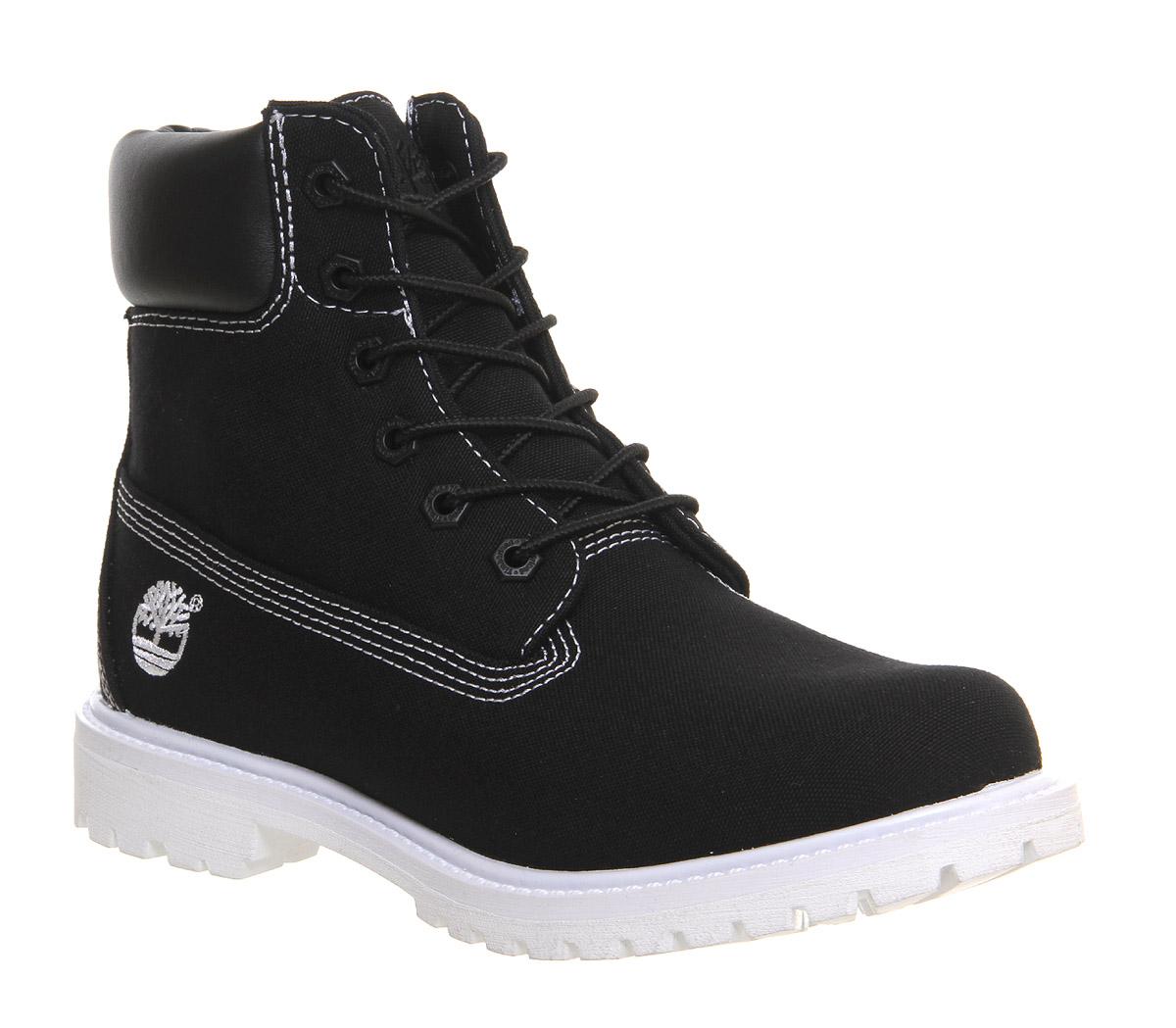 Beautiful Cheap Timberland Women 6 Inch Boots Dark Blue White