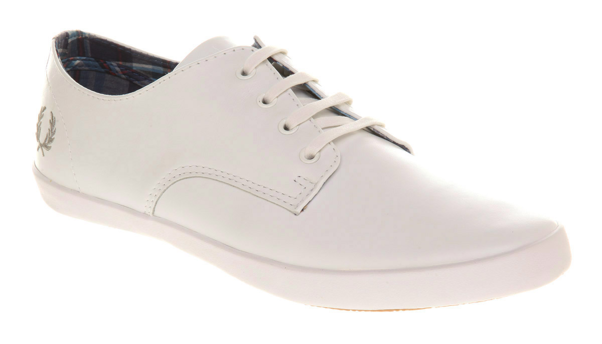Fred Perry White Shoes