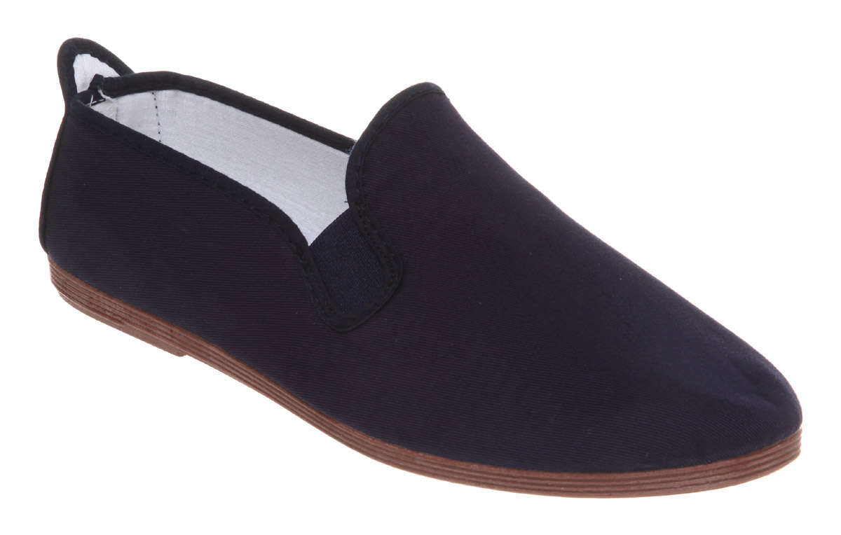 mens flossy flossy plimsole navy canvas casual shoes ebay