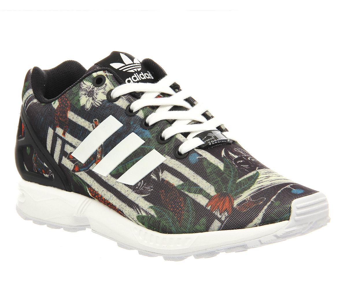 ZX FLUX Trainers clear onix/grey/chalk white durable service