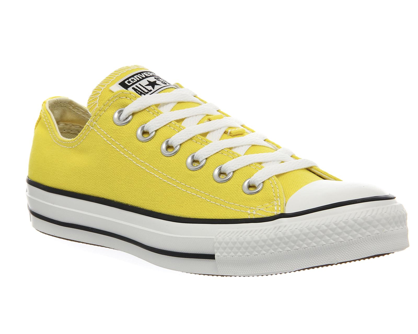 tenis converse amarillos