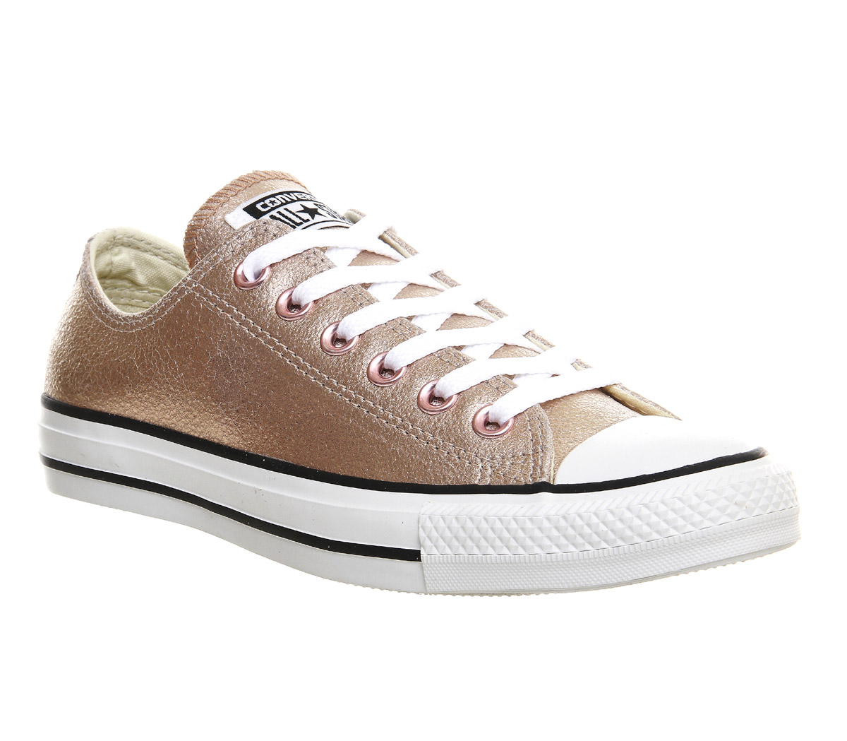 rose gold shoes converse