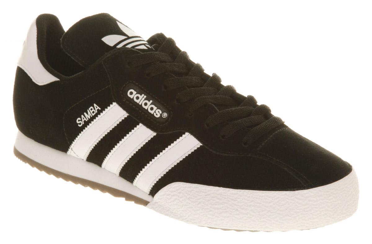 Adidas Black Sambas Shoes