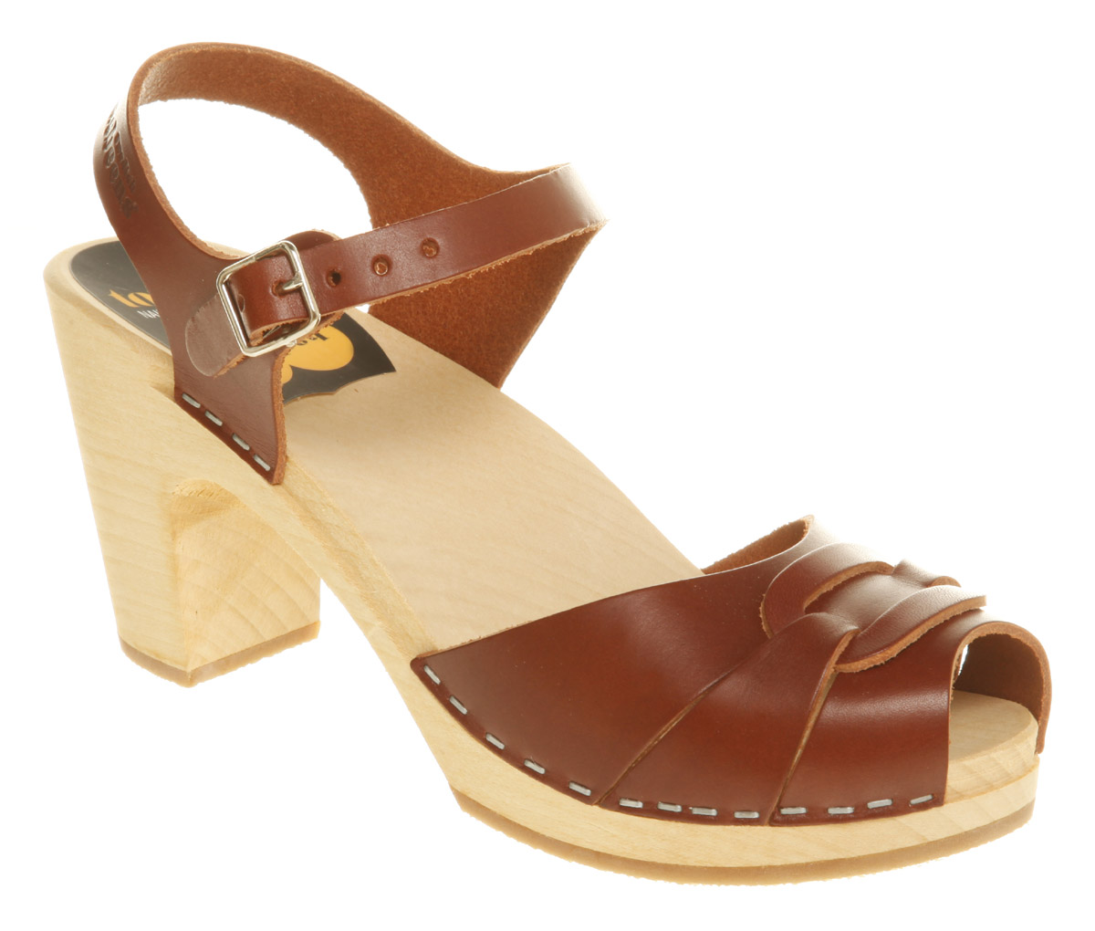 Swedish-Hasbeens-Peep-Toe-Super-High-Cognac-Heels