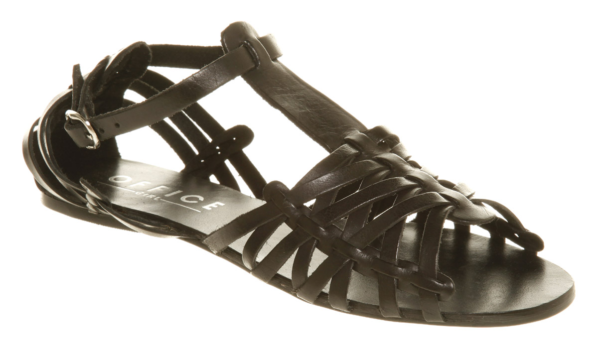 Womens-Office-Synchronize-T-Bar-Sandal-Black-Leather-Sa