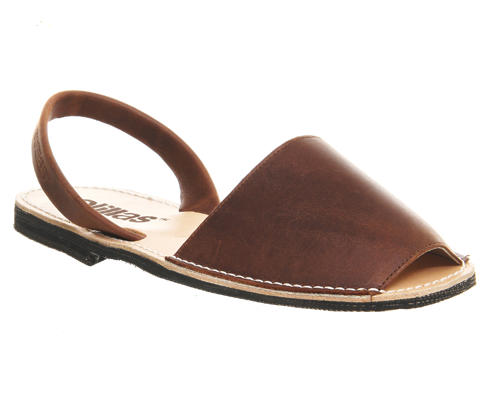 Solillas Solillas Sandals Mens Sandals Brown Leather 2176350015