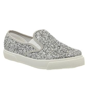 glittriga sneakers dam