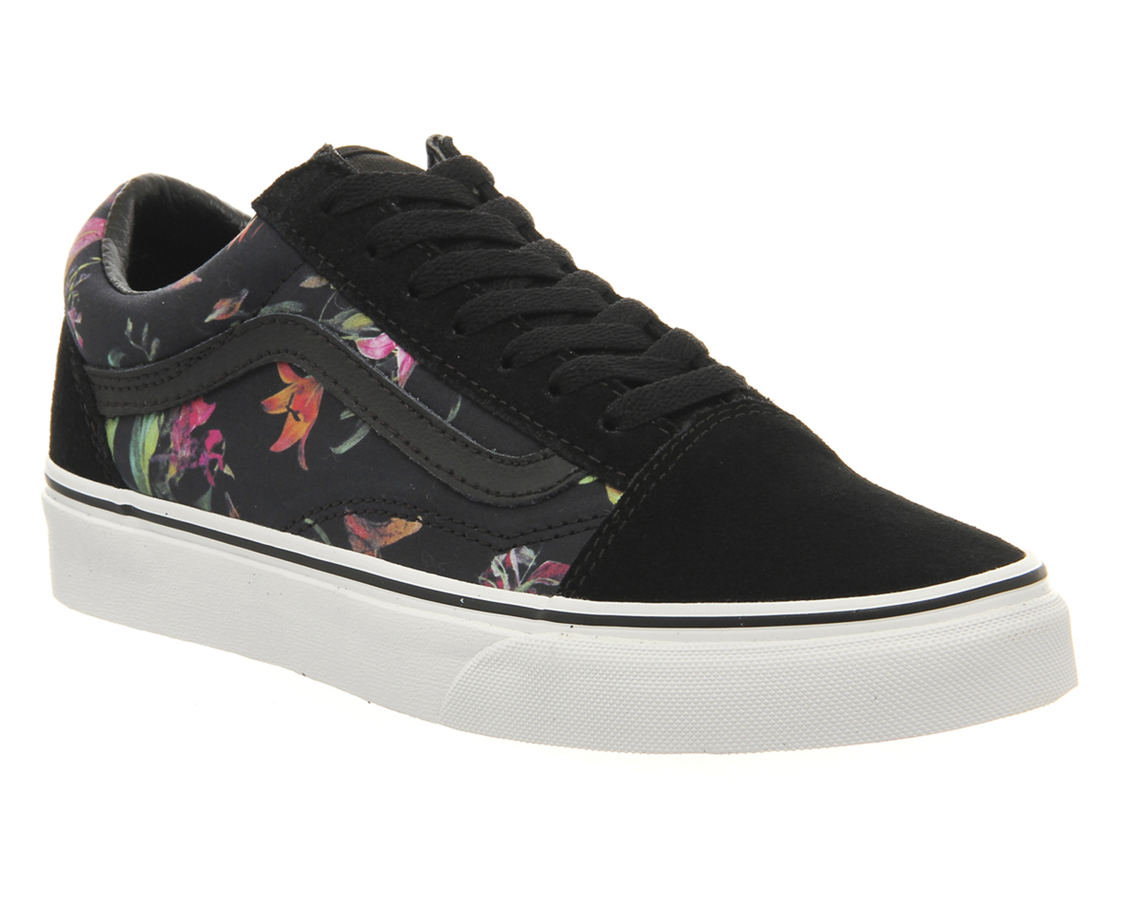 Vans Old Skool Unisex Sports Black Bloom 2421804950