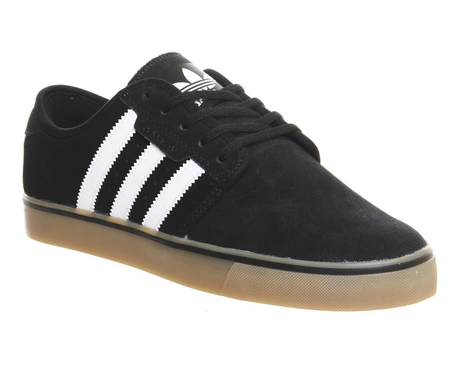 Adidas Seeley Shoes Black White Gum