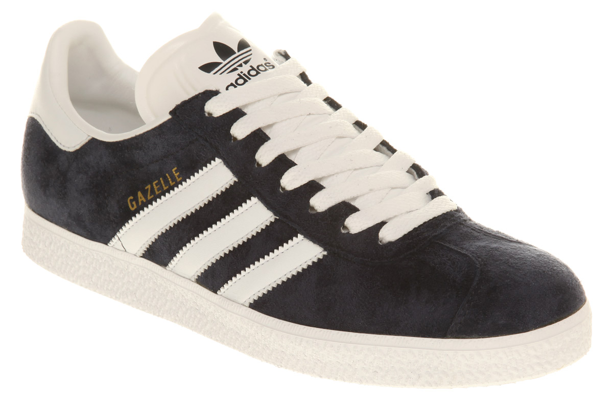 mens adidas gazelle marine abo trainers shoes ebay