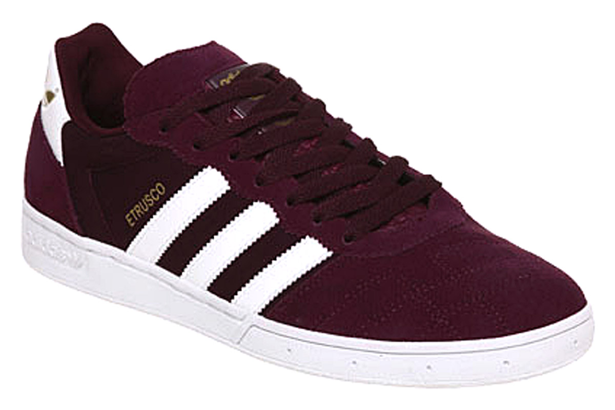 Mens Maroon Athletic Shoes