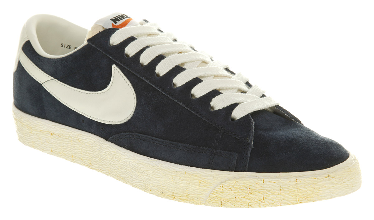 womens nike grey blazer low vintage trainers