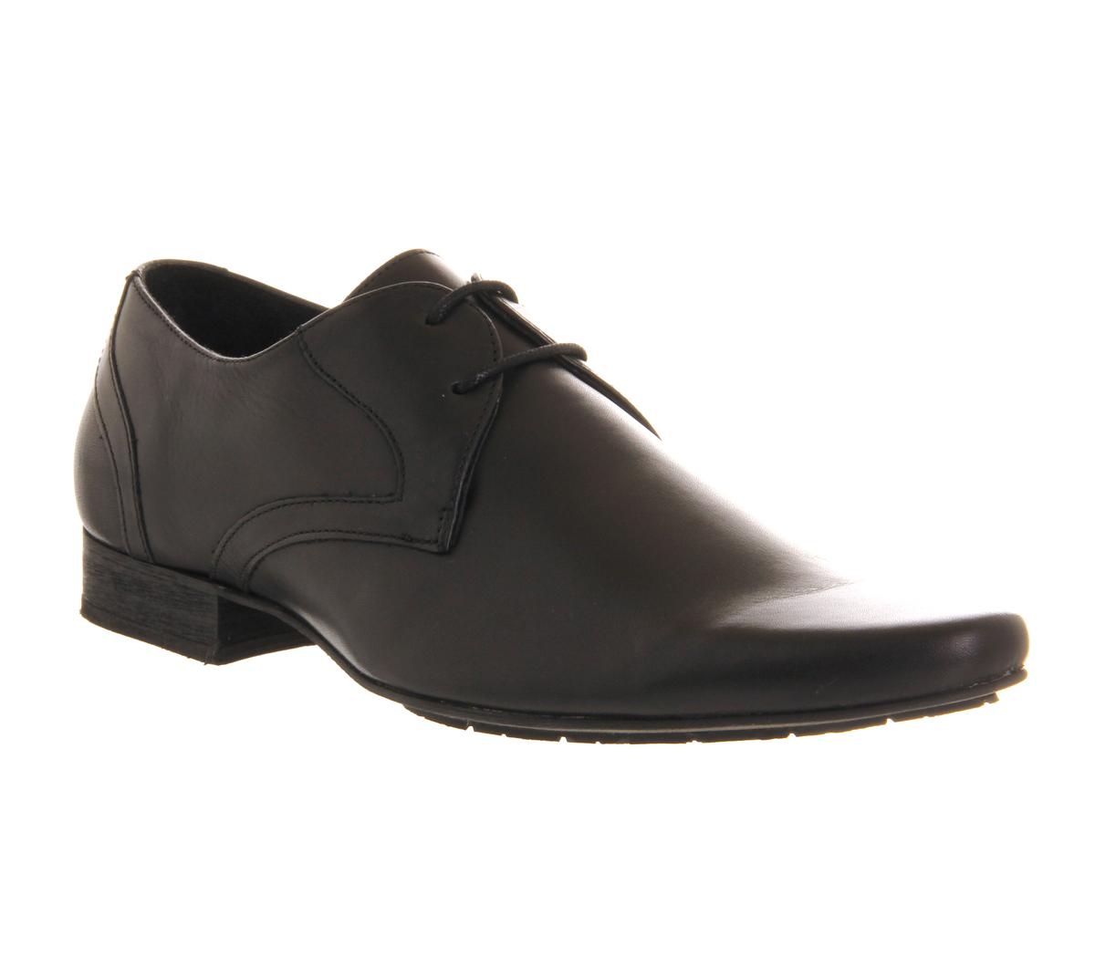 Mens-H-By-Hudson-Livingston-Lace-Gib-Black-Leather-Formal-Smart-Shoes