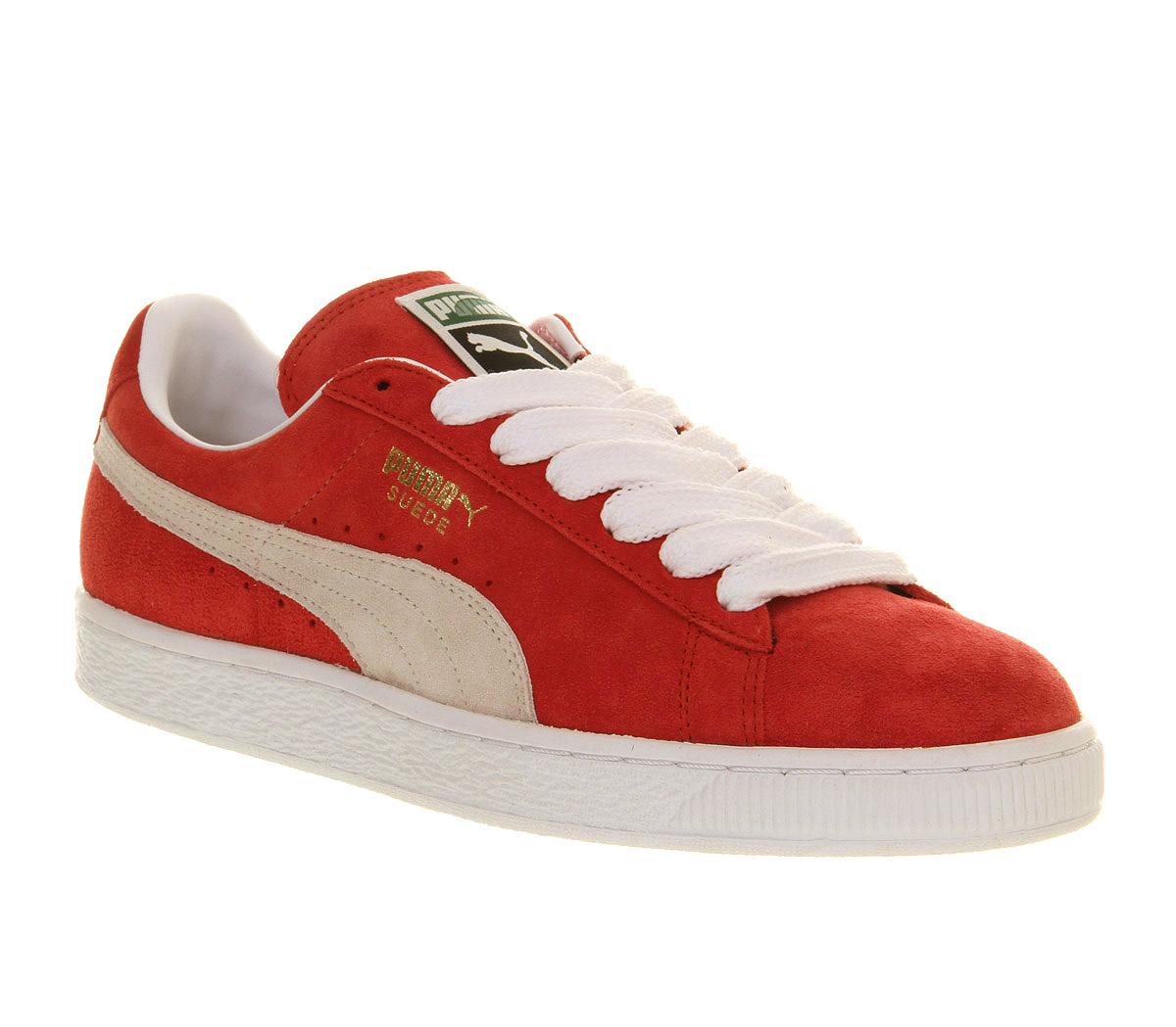 Puma Red Suede