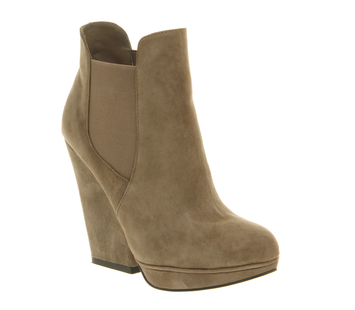 Wonderful UNDERGROUND Women39s Grey Suede Chelsea Boots Designer Footwear Sale