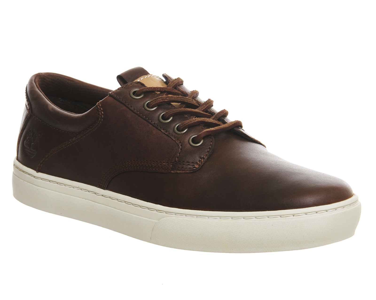 mens timberland adventure 2 0 cupsole oxford dark brown leather casual shoes ebay. Black Bedroom Furniture Sets. Home Design Ideas