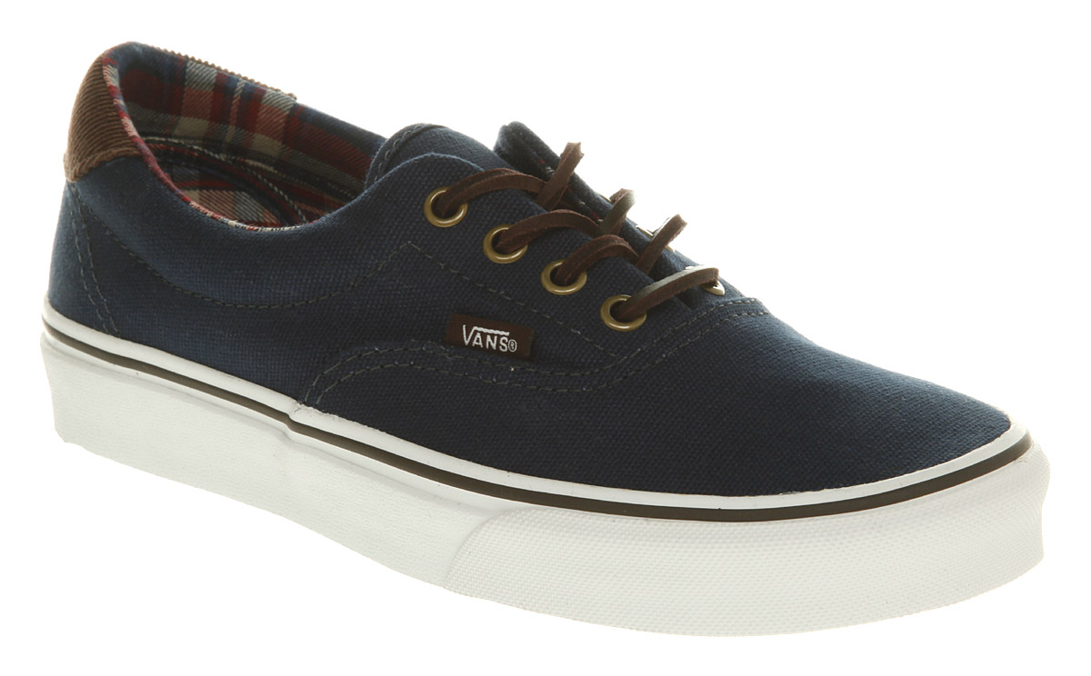 Mens-Vans-Era-59-Navy-Trainers-Shoes
