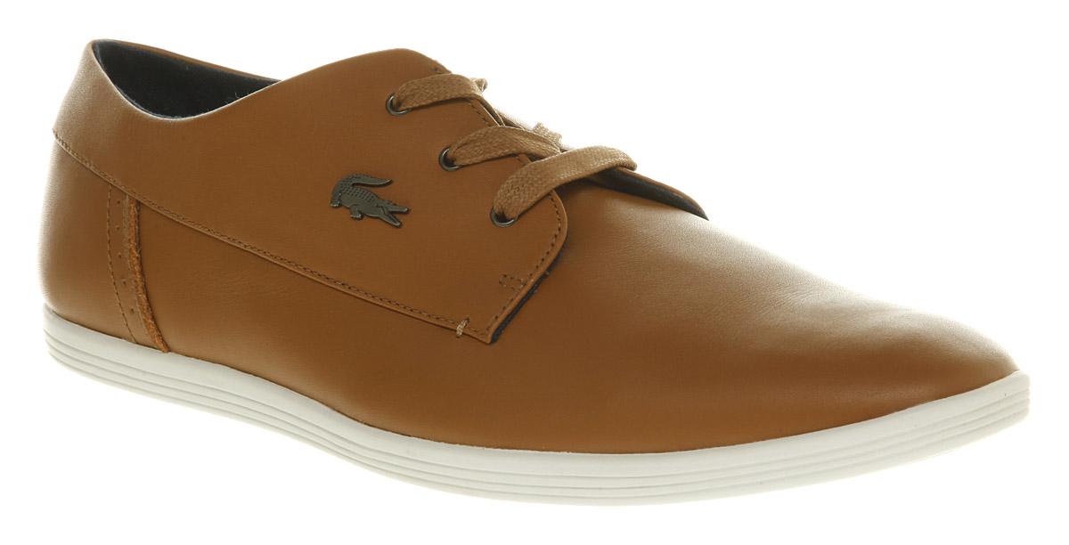 872ca69848e23 ... mens lacoste brown shoes ...
