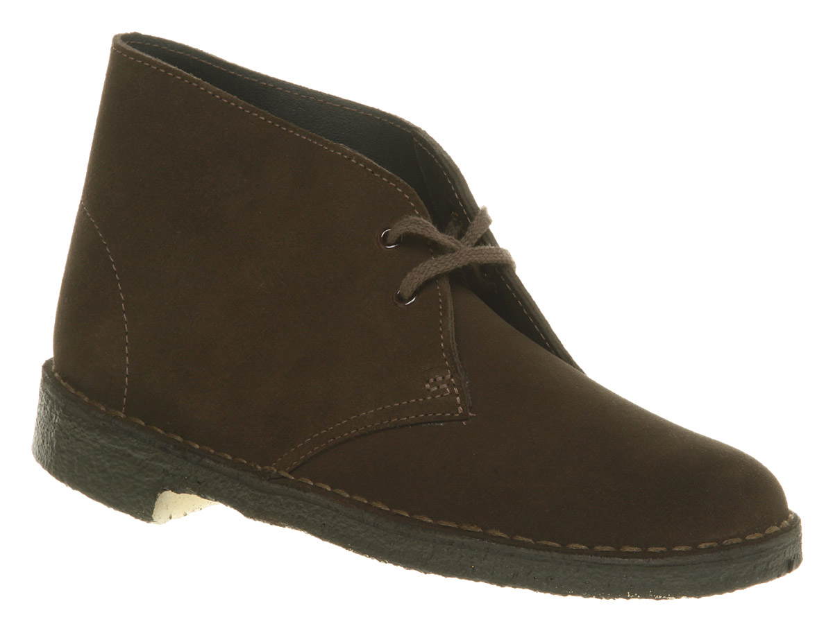 Wonderful Clarks England Shoes Desert Boot Women Beeswax Leather Comfort