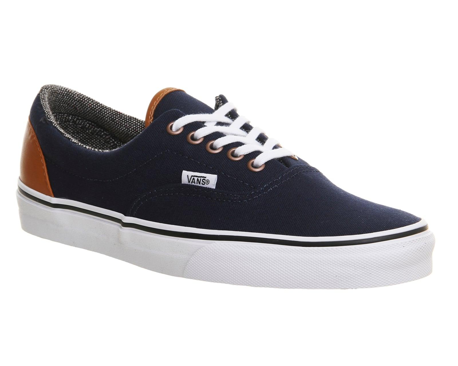Mens Vans Era DRESS BLUE TWEED Trainers Shoes | EBay