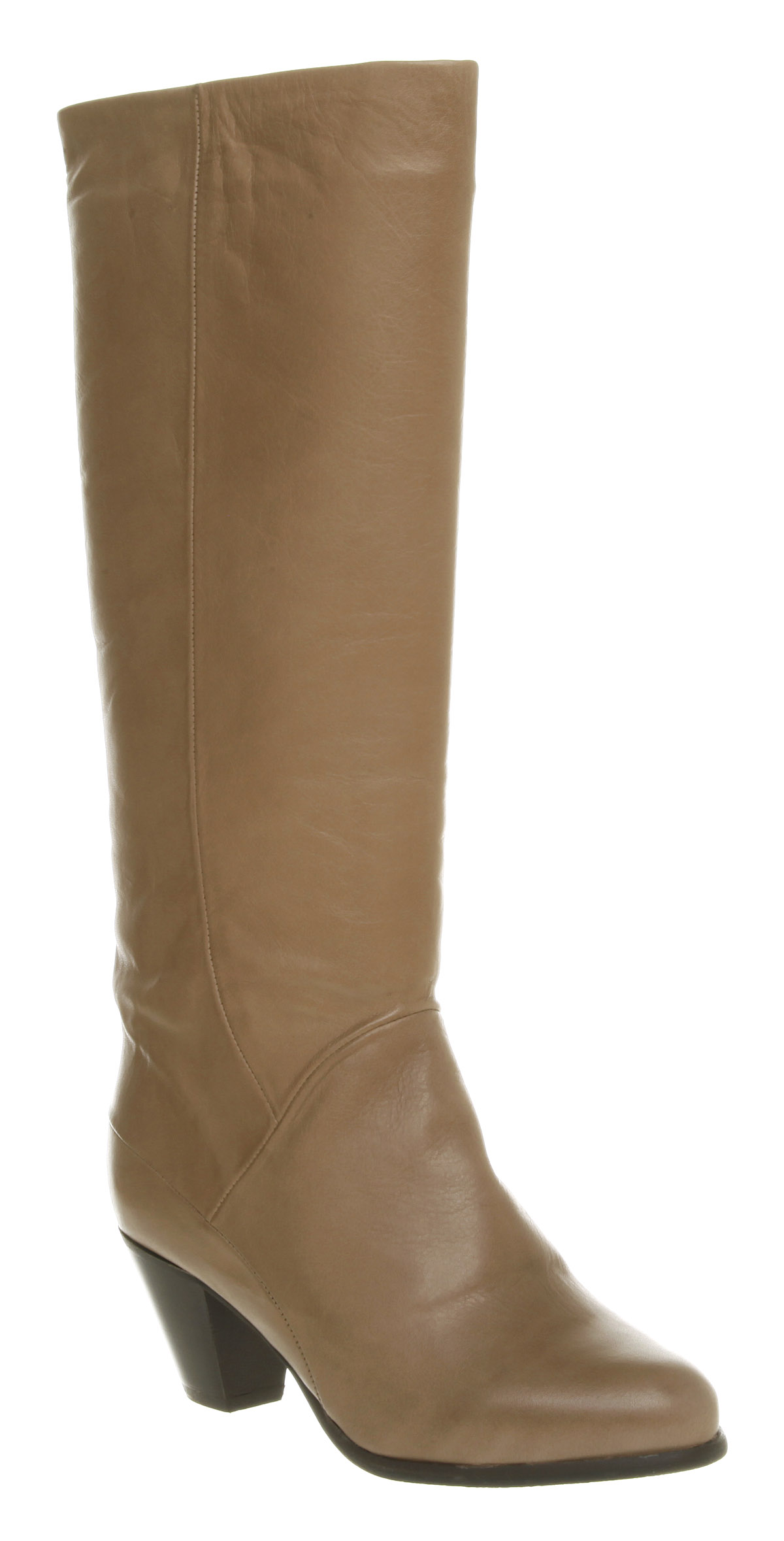 womens office jude boot taupe shoe leather boots shoes ebay