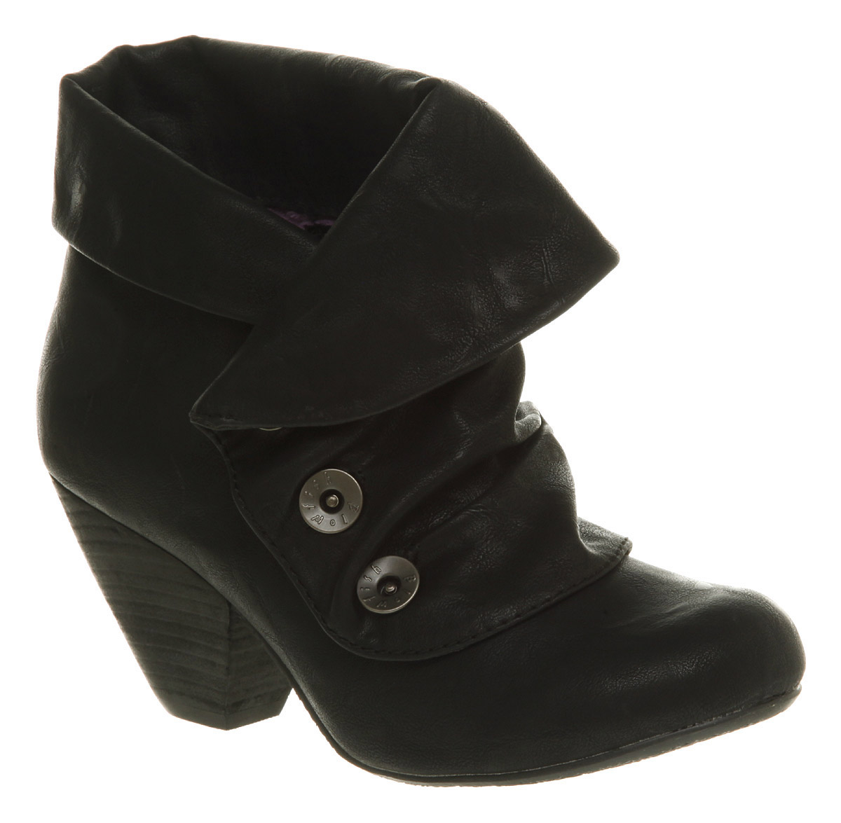 womens blowfish wycliffe button ankle boot black boots ebay
