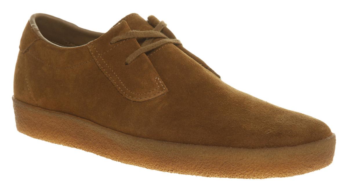 mens clarks originals ashcott cola suede casual shoes ebay