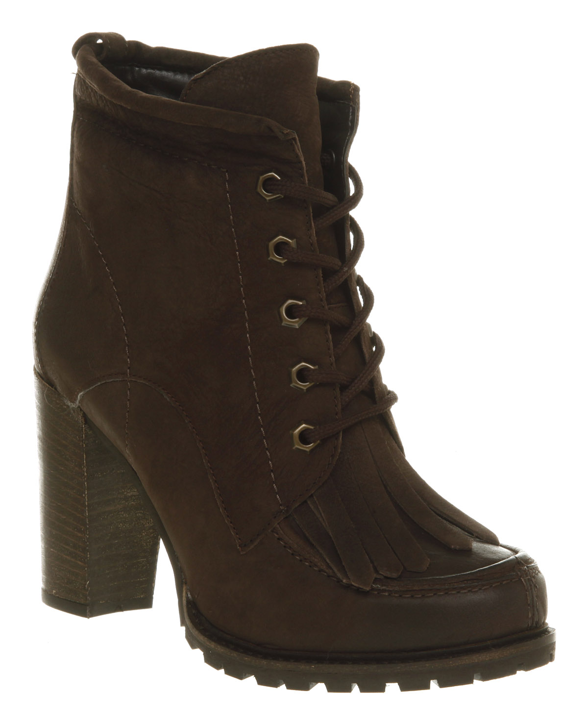 womens office notorious brown boot nubuck boots shoes ebay