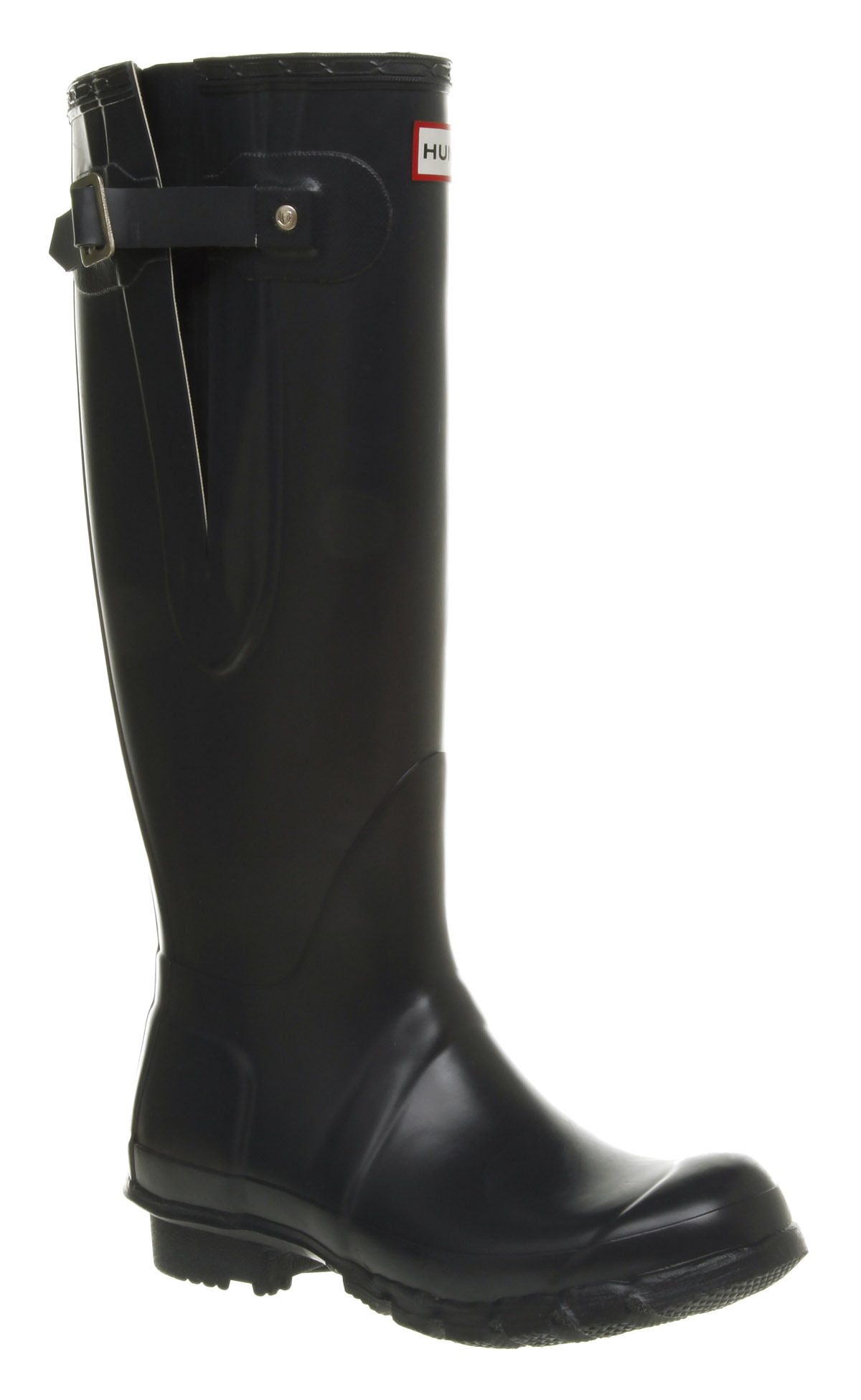 Womens-Hunter-Original-Adjustable-Blue-Boots-Shoes-New