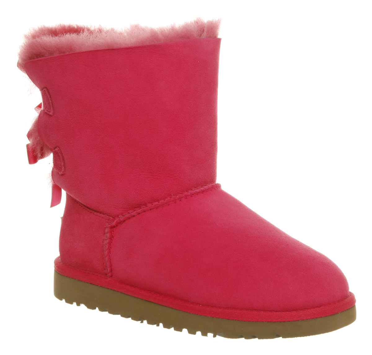 pink bailey bow uggs youth