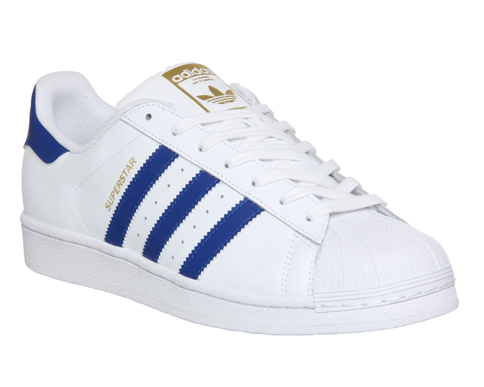 Adidas Sneakers Superstar 1 White Collegiate Royal