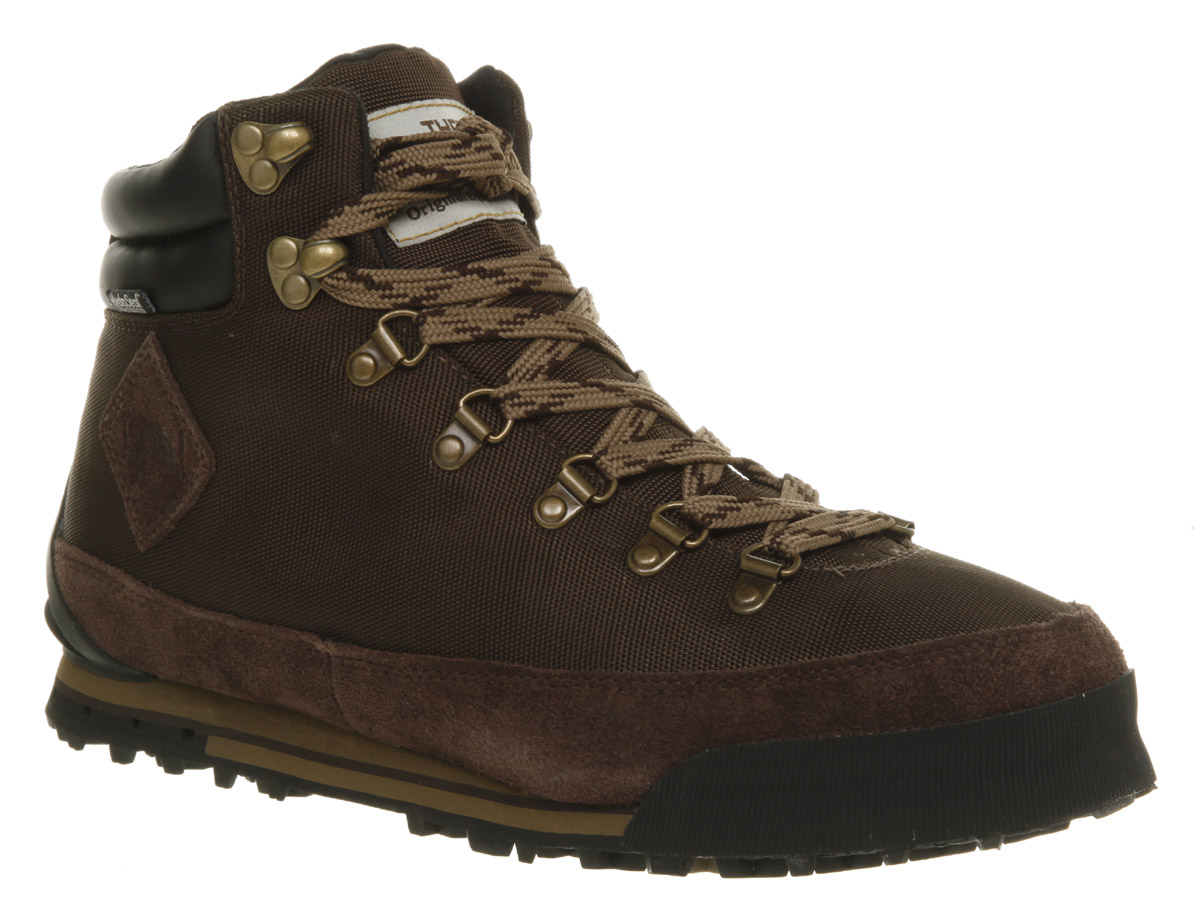 Mens-North-Face-Back-To-Berkley-Brown-Hiking-Boot-Shoes