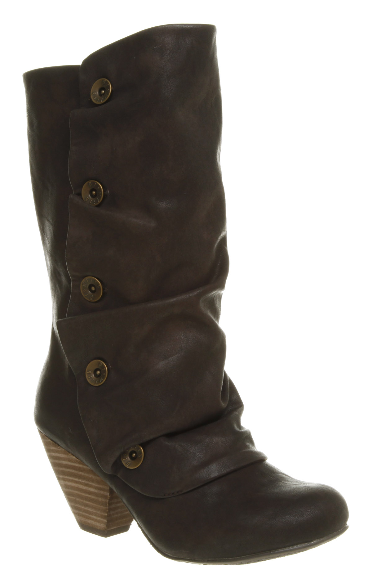 womens blowfish wright knee high brown boots shoes ebay