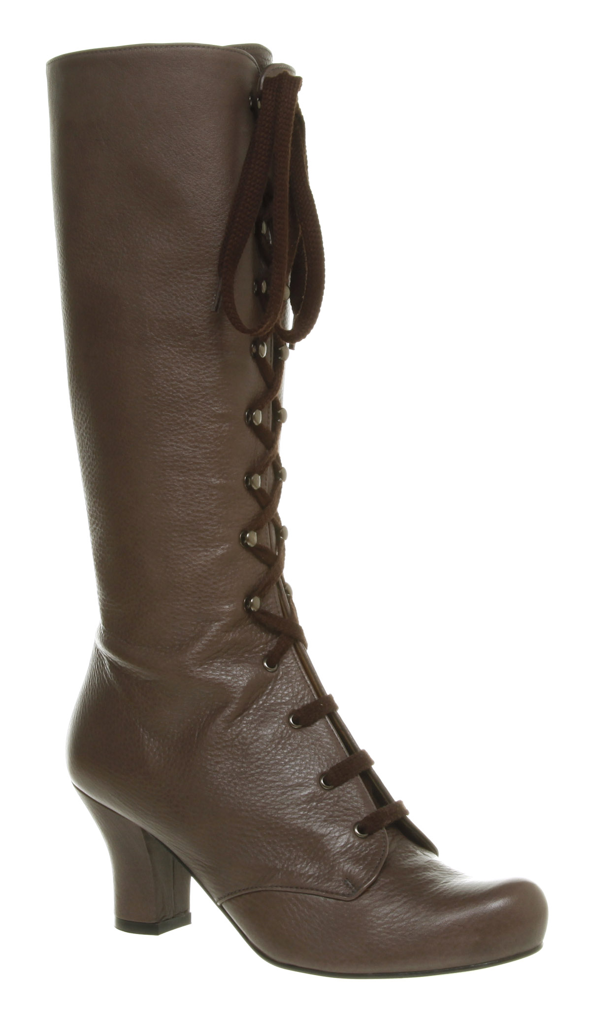 womens office jeanette knee high grey leather boots new ebay
