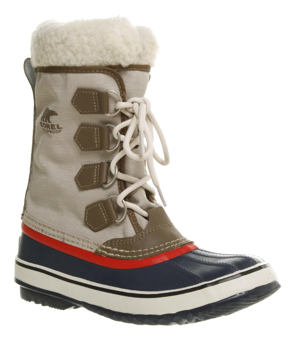 Women S Sorel Winter Carnival Waterproof Pac Boot Navy Red