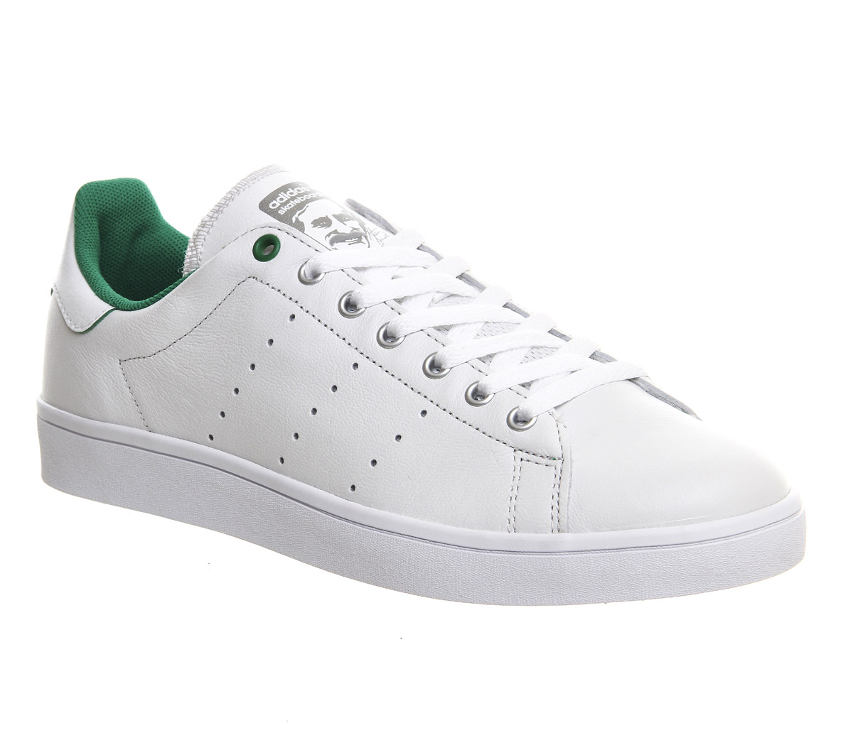 Adidas Stan Smith Gs Core White Green