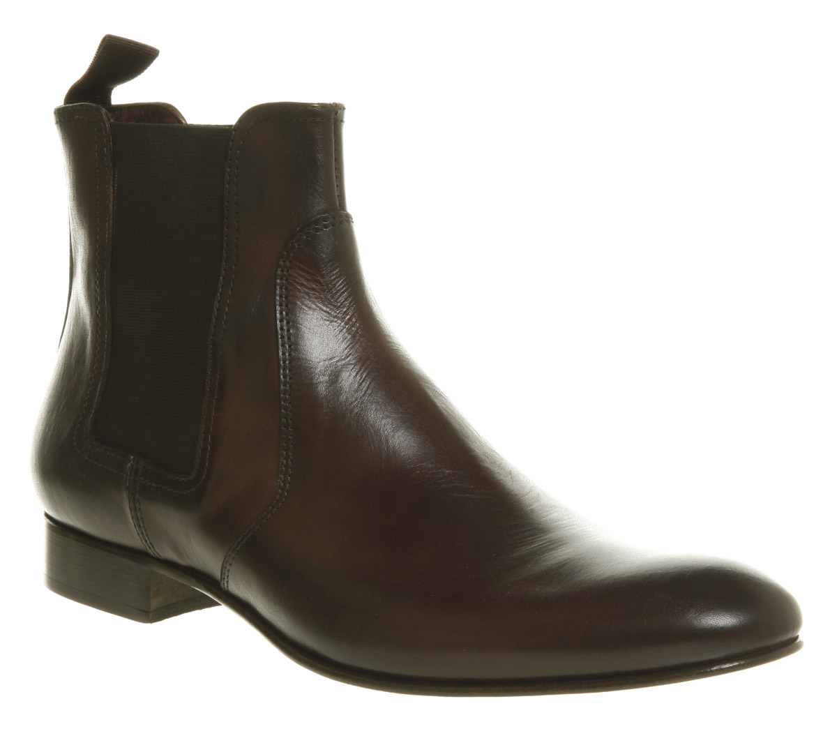 mens poste raffaele brown leather formal ankle boots ebay