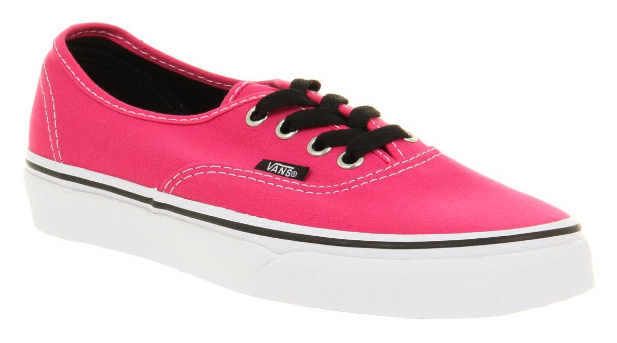 pink black vans