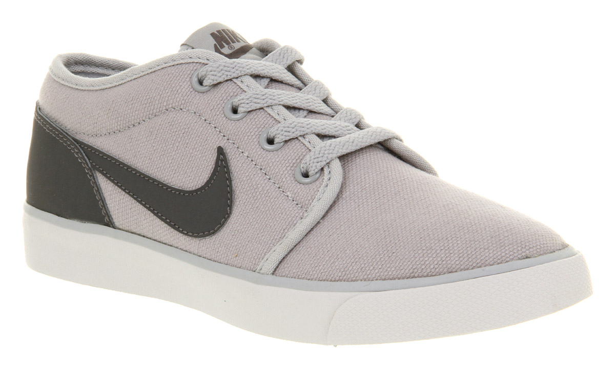 Unisex-Nike-Coast-Classic-Wolf-Grey-Grey-Casual-Canvas-Trainers-Shoes