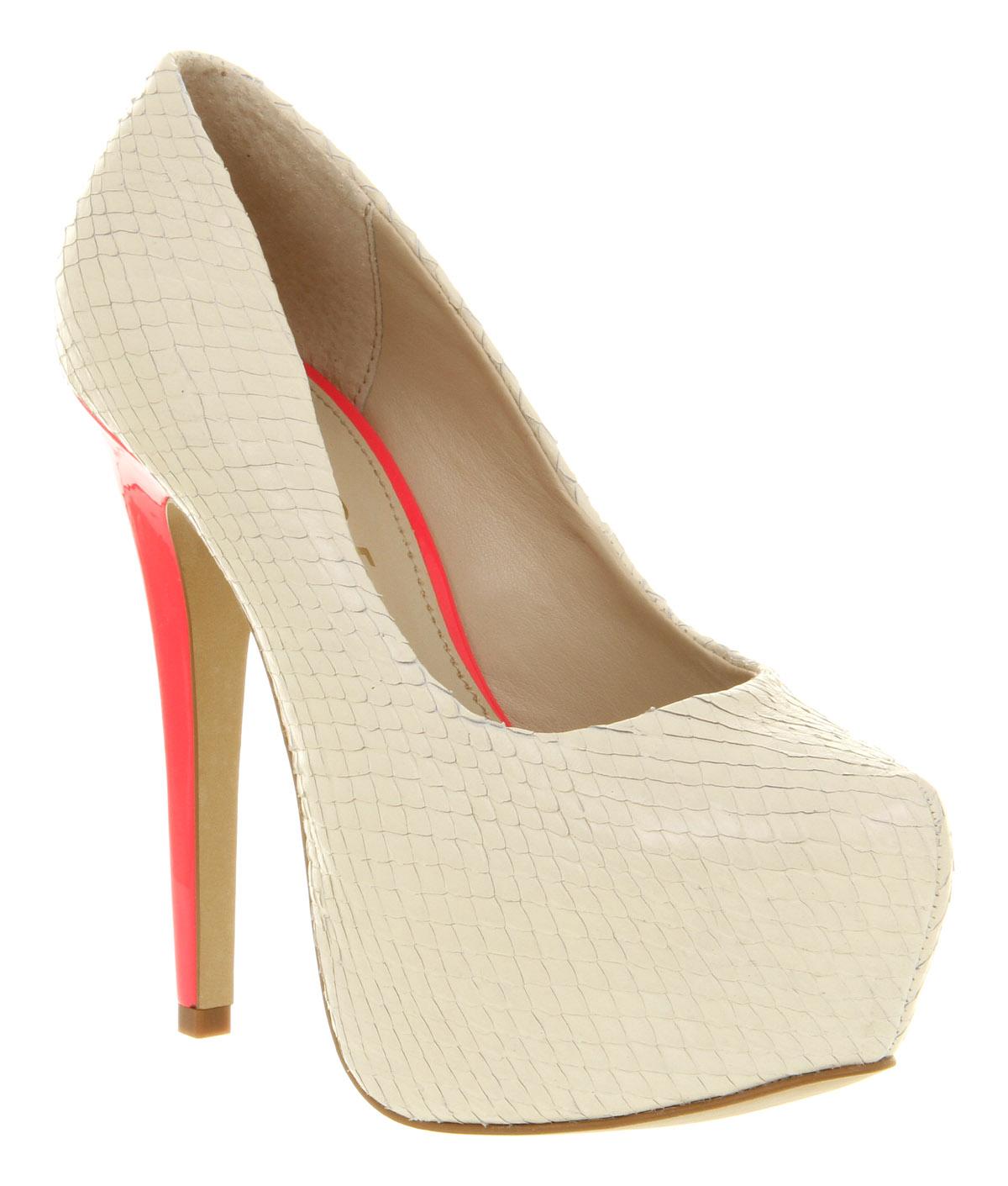Cream White Heels