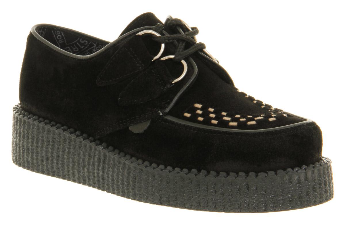Womens Flat Black Shoes