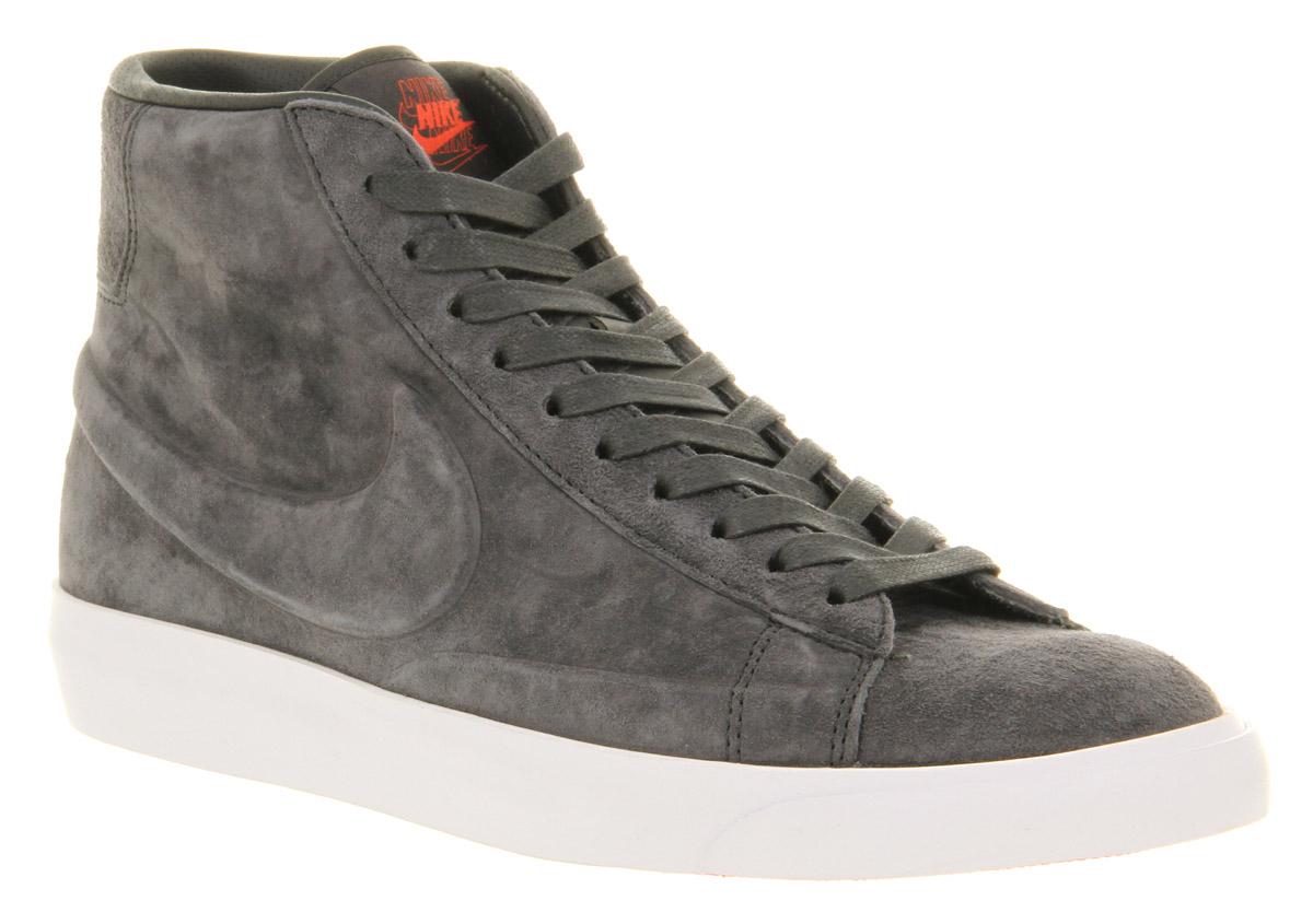 premium selection 22c05 c1140 Image is loading Nike-Blazer-Mid-Anthracite-Grey-Vac-Tech ...