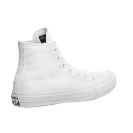 d71258050a44 Womens Converse Chuck II Hi WHITE MONO Trainers Shoes  Ex Display ...