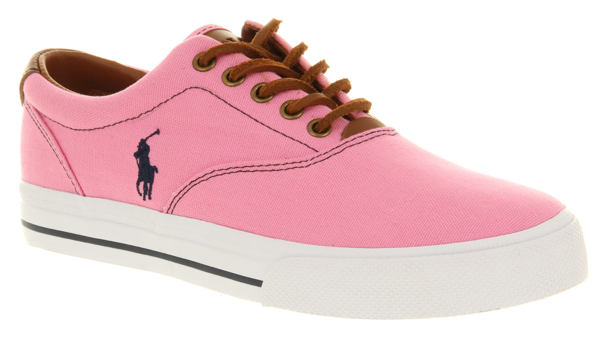 polo ralph lauren shoes pink